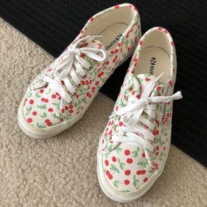Superga cherry sneakers